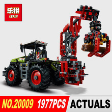 LEPIN 20009 1977pcs technic series The tractor Model Building blocks Bricks Compatible Toy 42054