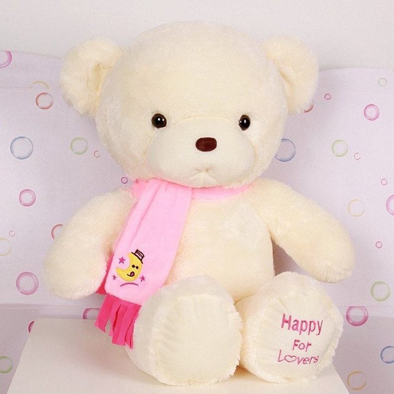 Niuniu Daddy Birthday Valentines Gift Scarf Baby Bear Wedding Plush Toy Teddy Doll 2 Colors Size 30cm In Stuffed Animals From Toys Hobbies On