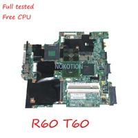 Lenovo IBM R60 T60 42W7725 Laptop anakart Intel 945PM DDR2 Ana kurulu ücretsiz cpu tam test