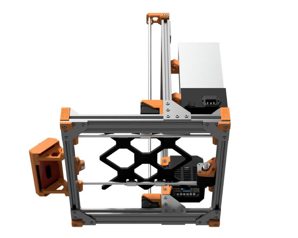 Image 4 - Prusa i3 MK3 Bear Upgrade,2040 V SLOT aluminum extrusions Prusa i3 MK3 Bear Aluminum profile frame kit-in 3D Printer Parts & Accessories from Computer & Office