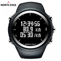 North Edge GPS Watch Digital Hour Men Wristwatch Smart Pace Speed Calorie Running Hiking Waterproof Sports Watch X-Trek.