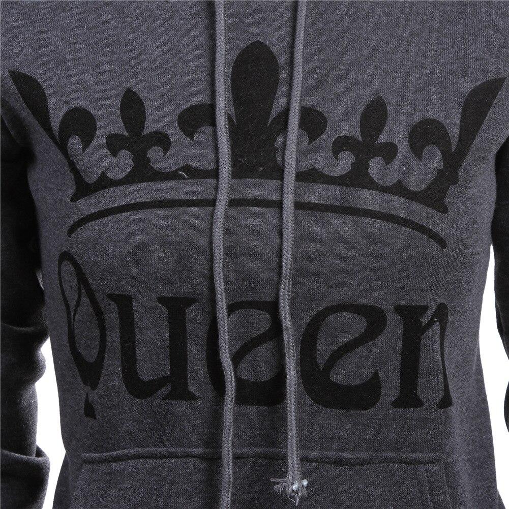 Autumn Winter Knitted King Queen Letter Printed Couple Hoodies Hip Hop Street Wear Sweatshirts Women Hooded Pullover Tracksuits Autumn Winter Knitted King, Queen Printed Couple Hoodies HTB1ZYsfmPihSKJjy0Flq6ydEXXa0