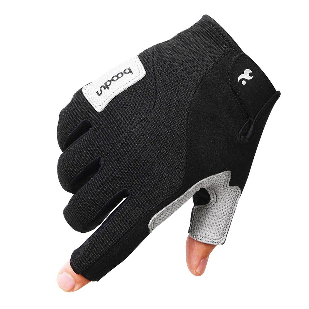 1 Pair Climbing Gloves Unisex Sport Fitness Gloves Half-Finger Climbing Gloves For Outdoors Mountain Climbing Hiking Fishing