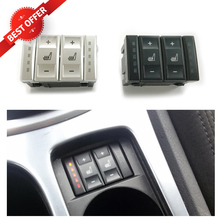 For Ford Mondeo MK3 S-Max Electric Seat Heated Switch Heating Switch 6M2T-19K314-AC BS7T-19K314-AB