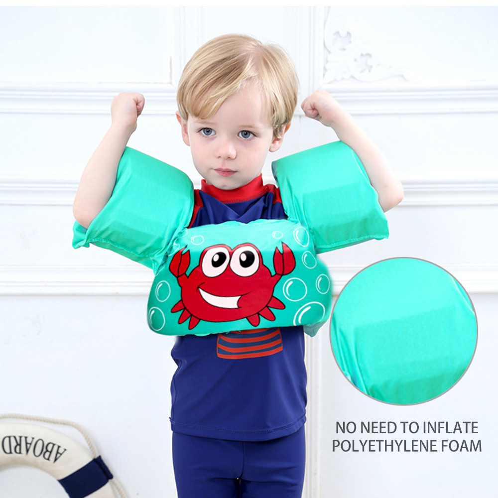 Baby Arm Ring Safe Vest Float Foam Safety Boy Girl Jacket Swimsuit Floating Vest For Child Swimming Accessories Dropshipping