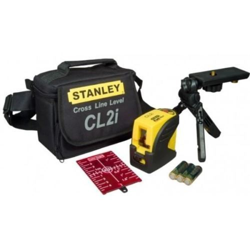 New Stanley Cross Line Laser CL2I with Magnetic Pivot Bracket