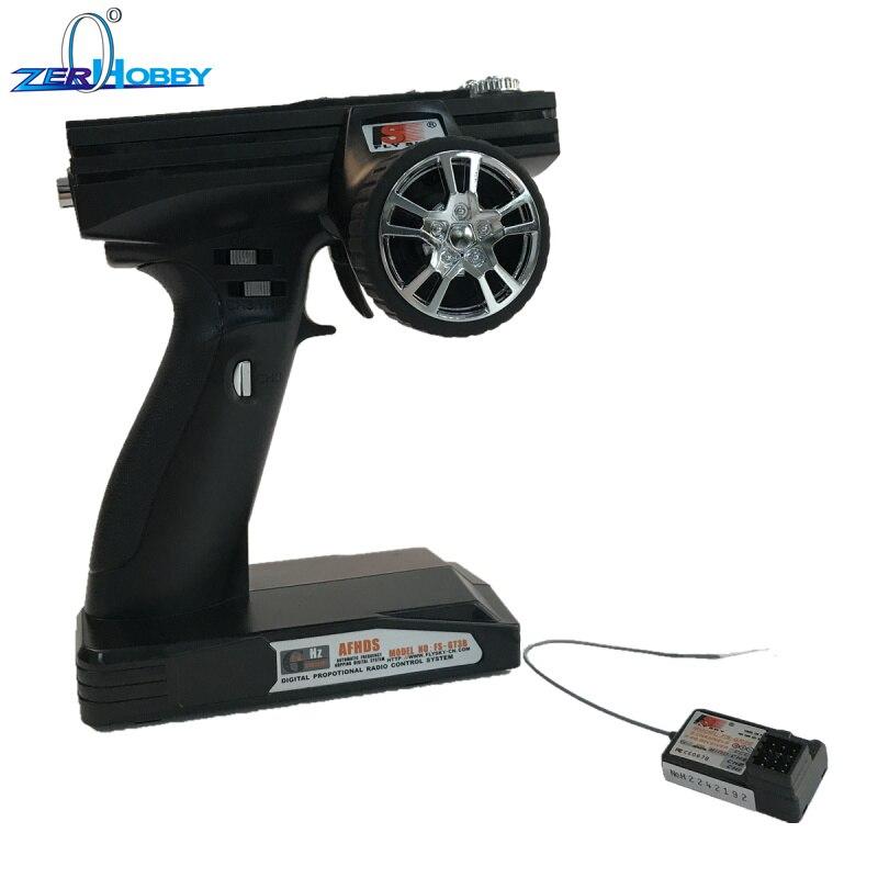Flysky FS GT3B FS-GT3B 2.4G 3ch RC Gun System télécommande émetteur et récepteur Pour RC Voiture RC Bateau