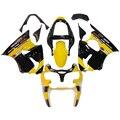 Full Fairings For Kawasaki ZX6R ZX-6R Ninja 636 00 01 02 2000 2001 2002 ABS Plastic Motorcycle Fairing Kit  Yellow Black