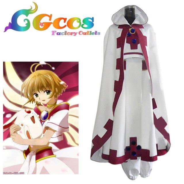 CGCOS Free Shipping Cosplay Costume Sakura Tsubasa