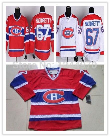 half off c42ed 8f027 Men's Montreal Canadiens Hockey Jerseys #67 Max Pacioretty ...
