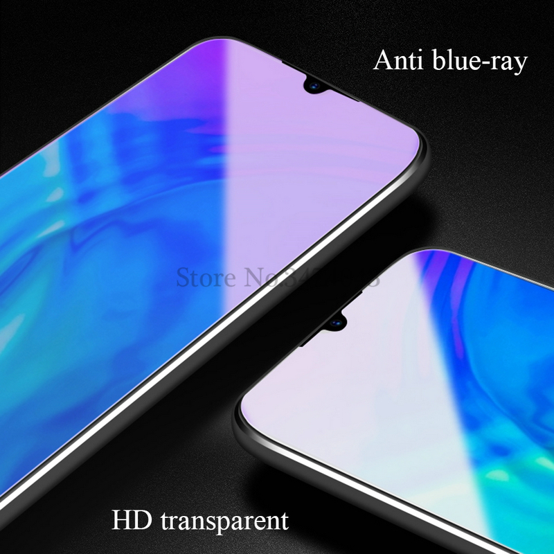 Image 4 - 2Pcs Tempered Glass For Huawei Honor 10i 10 lite Full Protective Film Screen Protector For Huawei Honor 10 lite 10i Glass Case-in Phone Screen Protectors from Cellphones & Telecommunications