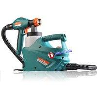 Latest version high quality 850W air brush electric spray gun SG 9619N paint spray gun 800ml 220/240V with a funnel+two nozzles