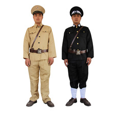 Military uniform traitors Republic of China police patrol clothing Kuomintang men officers Chinese ancient soldiers