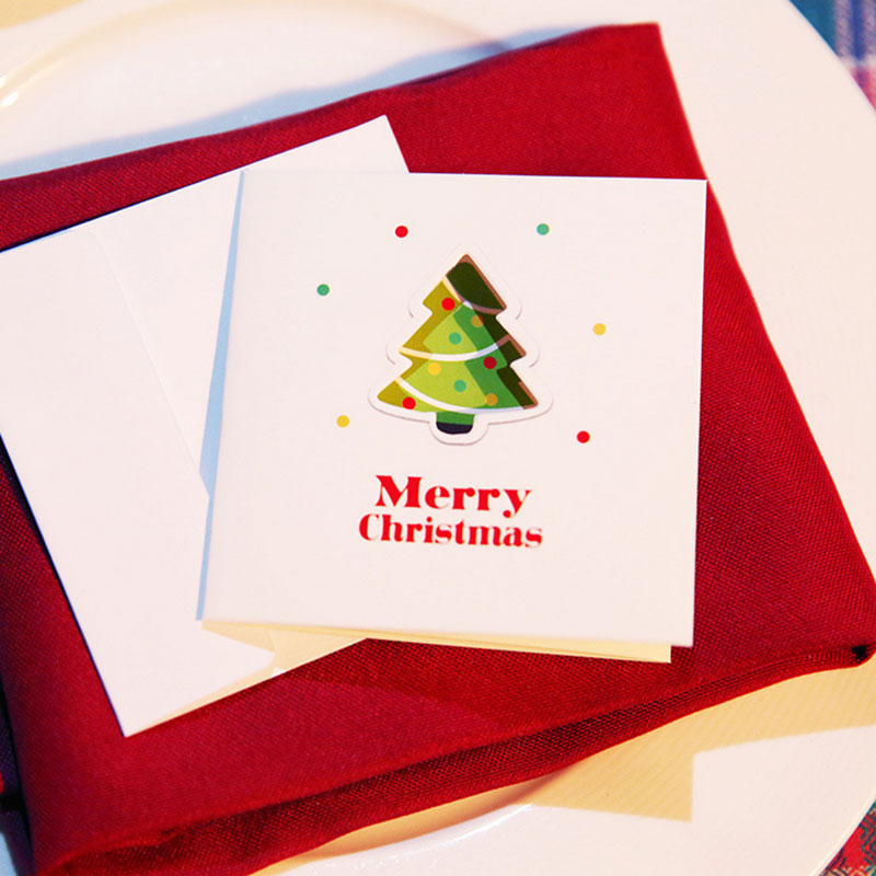 2 pcs/lot Color hollow out Christmas series card with envelope New Year greeting card message card Gift card 30pcs in one postcard take a walk on the go dubai arab emirates christmas postcards greeting birthday message cards 10 2x14 2cm