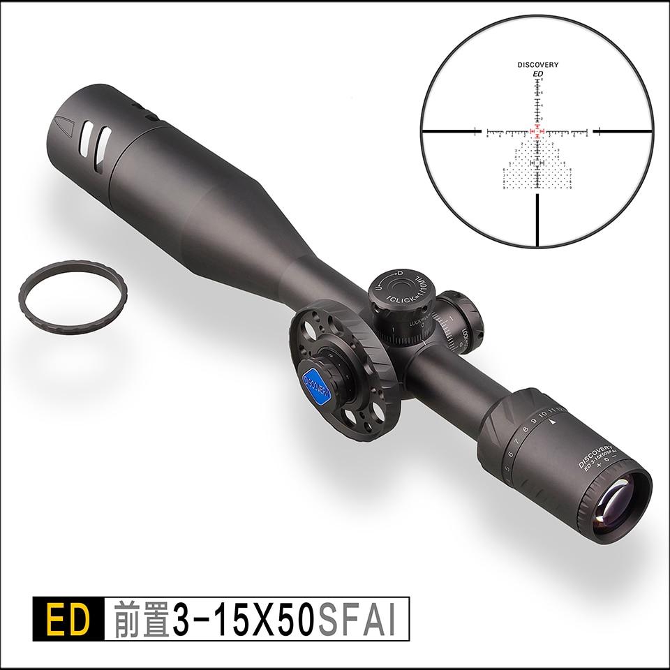 Descoberta ED 3-15X50SFAI vista rifle de Caça