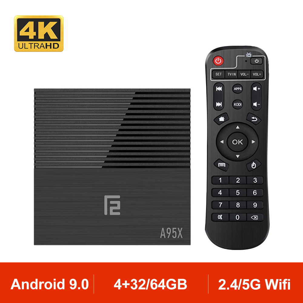 A95X F2 Android 9 0 TV Box Amlogic S905X2 Quad Core 2 4G Wifi 4K HDR