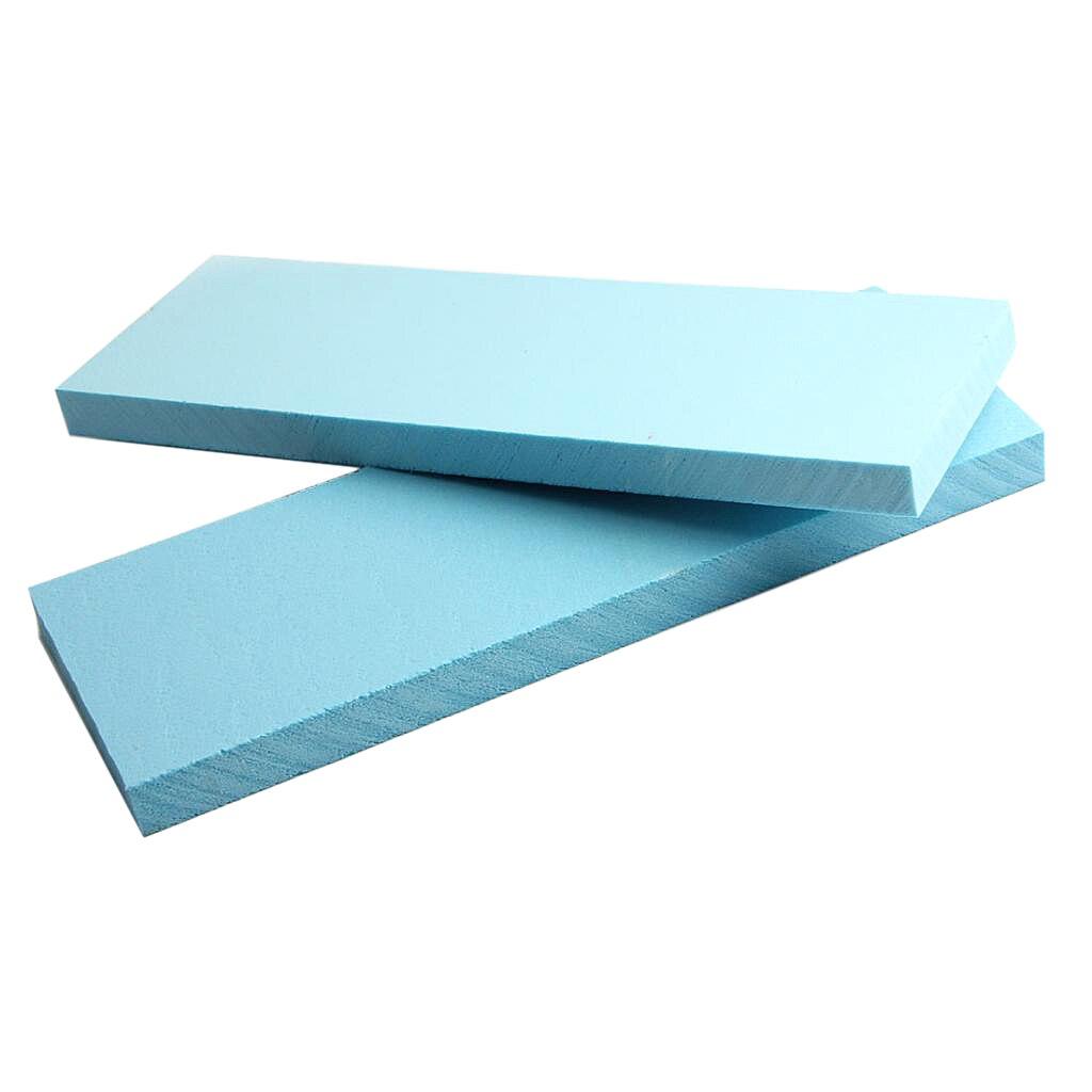5 pces azul espuma laje diorama cenário base modelo de construção kit-295x100x20mm