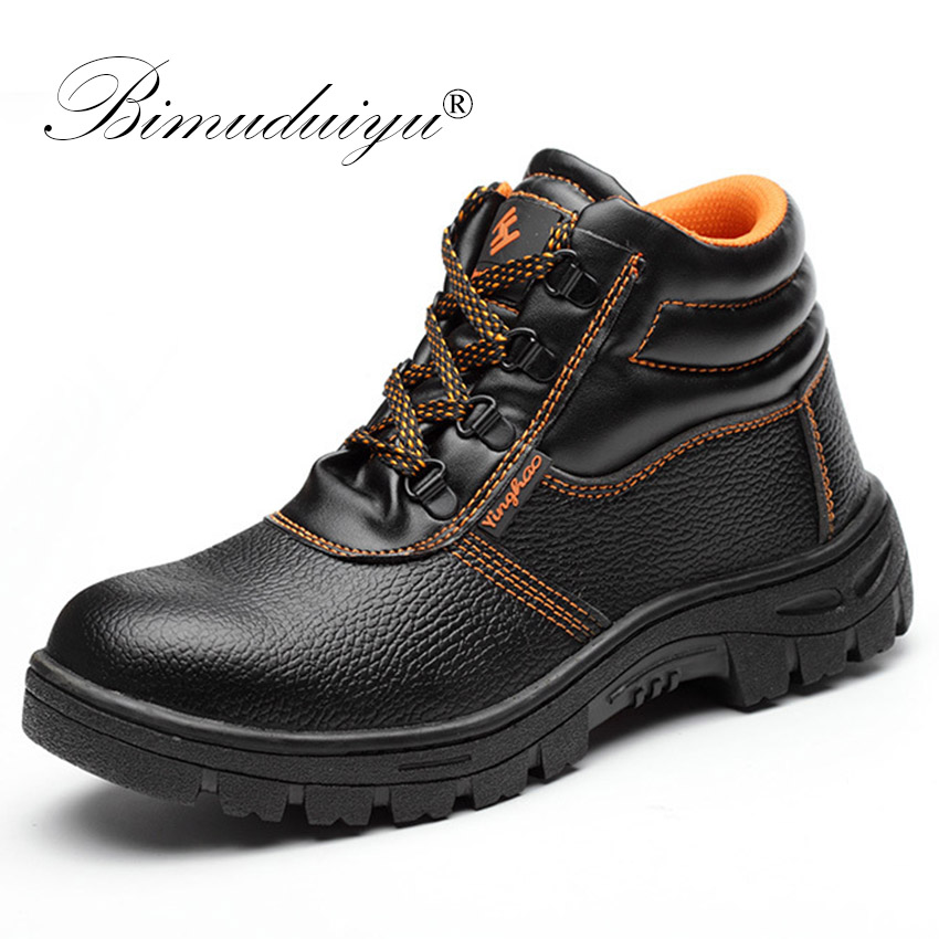 3ea62f27ee244 BIMUDUIYU Acier Embout De Protection Chaussures Avec Sac En Acier Tête  Anti-Crevaison Étanche Anti