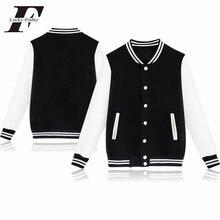 LUCKYFRIDAYF Hip Hop kurtka zimowa kobiety College odzież sportowa polar Jaqueta Feminina kurtka i przycisk kobiety kurtka bluza