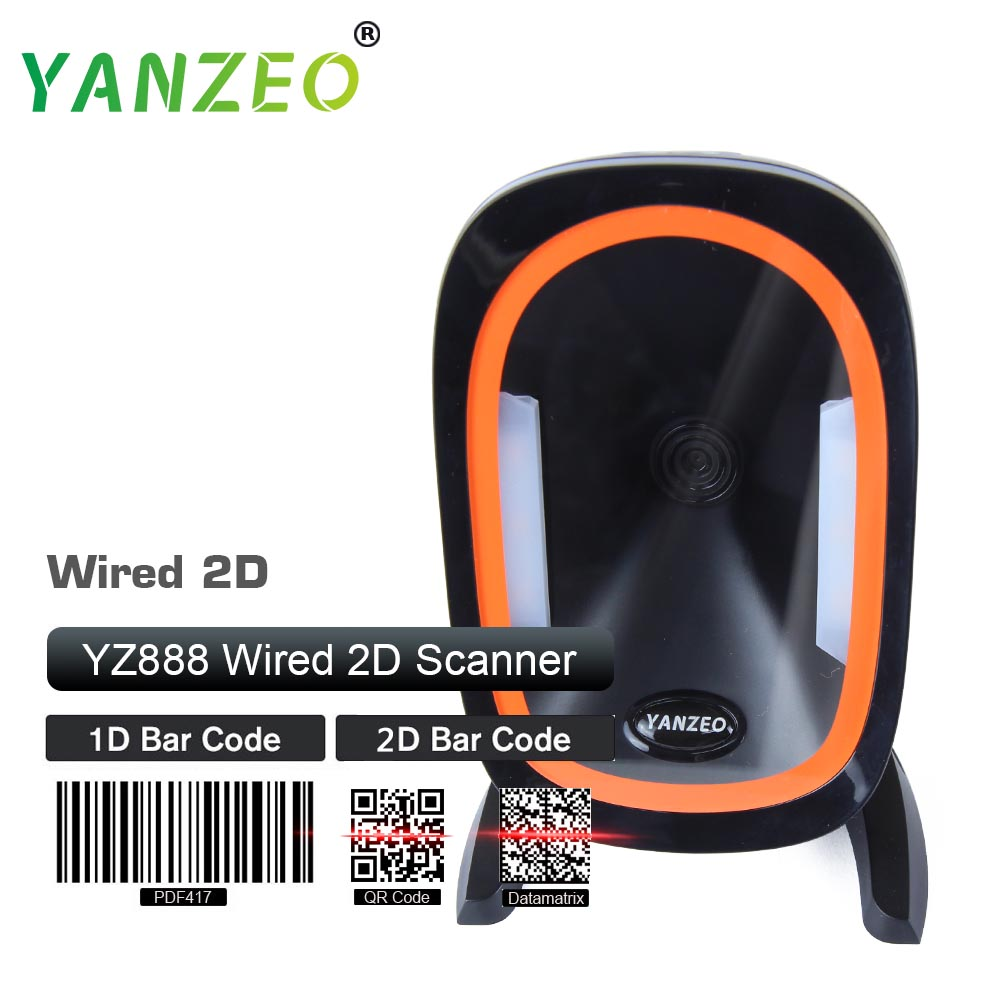 Yanzeo MK 7120 Orbit Barcode Reader High Speed Omni USB RS232 Omni Directional 2D Image Auto