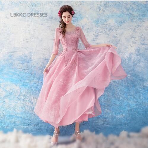 Scoop Nude Pink Homecoming Dresses Tulle With Lace Graduation Vestidos Para Graduacion Special Occasion Dresses