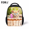 Fashion 3D Animal Cat School Bags Little Children Kindergarten Schoolbag Boys Girls Mini Shoulder Book Bags Kid Mochila Infantil
