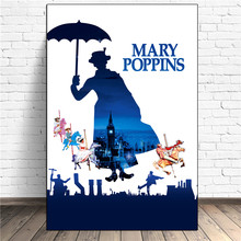 Mary Joy Fills The World Movie Wall Art Canvas Posters Prints Painting Pictures For Bedroom Modern Home Decor Accessories HD(China)