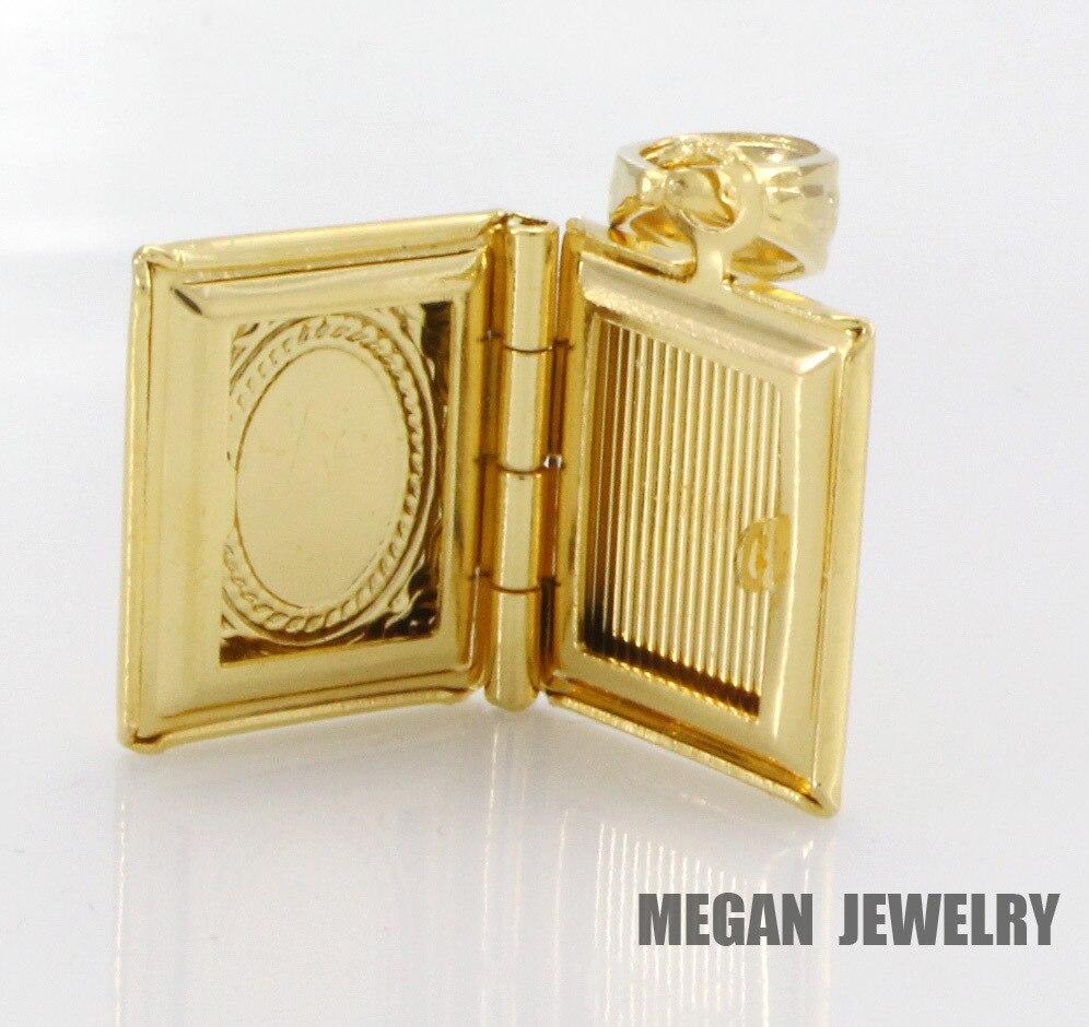 ALLAH KORAN MUSLIM BOOK fashion pendant & necklace for women & men, charm Islam Gift & Jewelry  3pcs/lot