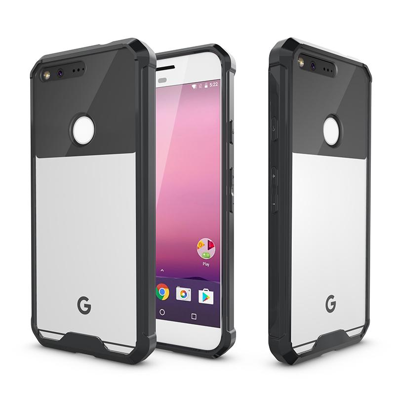 For Google Pixel 5.0 Pixel XL 5.5 Case Hard Acrylic Back Cover Case For Google Pixel XL TPU Bumper Protective Case Coques
