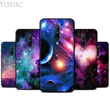 cute kawaii sky space Silicone Case for Oneplus 7 7Pro 5T 6 6T Black Soft Case for Oneplus 7 7 Pro TPU Phone Cover
