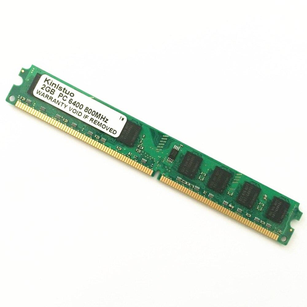 Kinlstuo al por mayor nuevo sellado DDR2 800/PC2 6400 1 GB 2 GB 4 GB memoria RAM de escritorio compatible con DDR 2 667 MHz/533 MHz en Stock