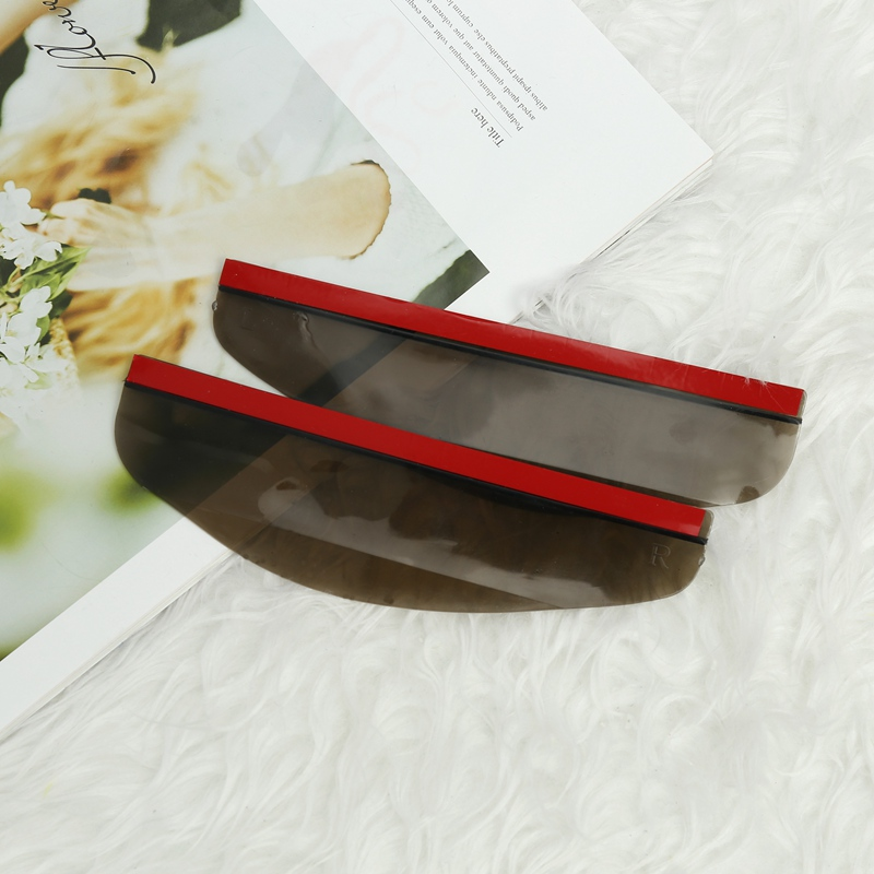 Universal PVC Blades Car Back Cover Auto Accessories Car Rearview Mirror Rain Shade Rainproof Mirror Eyebrow Rain