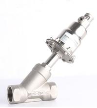 1 1/2 inch одинарного нержавеющей стали пневматический угол седла клапана 63 мм привод