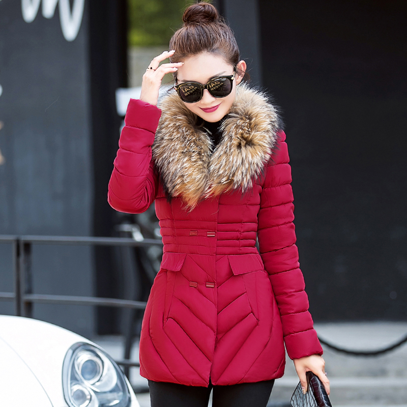 Winter Jacket Women 2017 New Fashion Casual Long Outwear Down Cotton Parkas Ladies Slim Nagymaros Thick Warm Coat Plus Size 3XL 2015 fashion winter white duck down jacket warm nagymaros collar solid color outwear hooded slim long women coat winter dq514