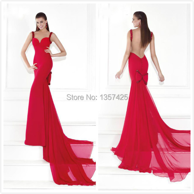 Red Bow Prom Dresses