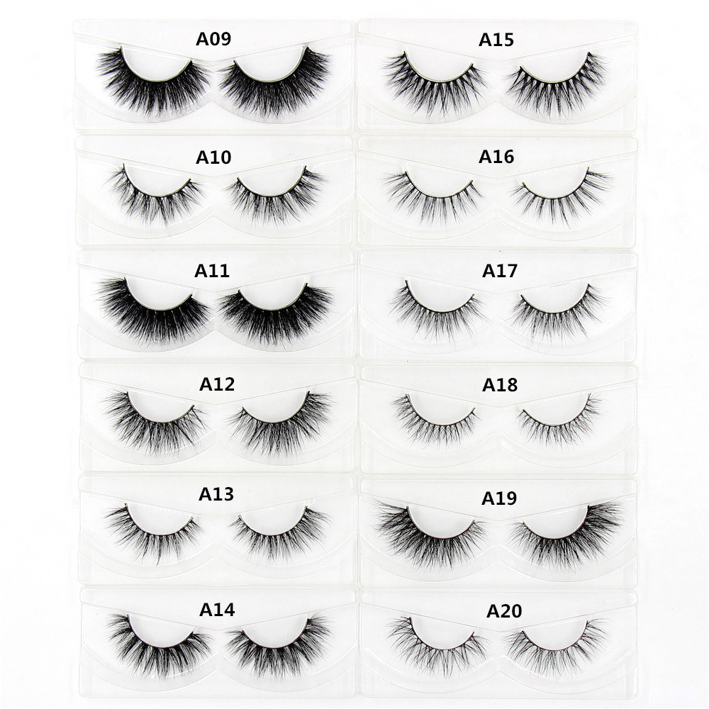 dbfa3739ef8 3D Mink eyelash Messy Cross Thick Natural Fake Eye Lashes Professional  Makeup Bigeye Eye Lashes Handmade 1pair Glitter Packaging