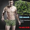 Free shipping underwear men boxer Breathable nylon man modal panties male trunk panties plus size