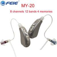 Digital Tinnitus Masker Digital Hearing Aid 8 Channels Program Profound Hear Weak Ear Aisstance Sound Louder Amplifier MY 20