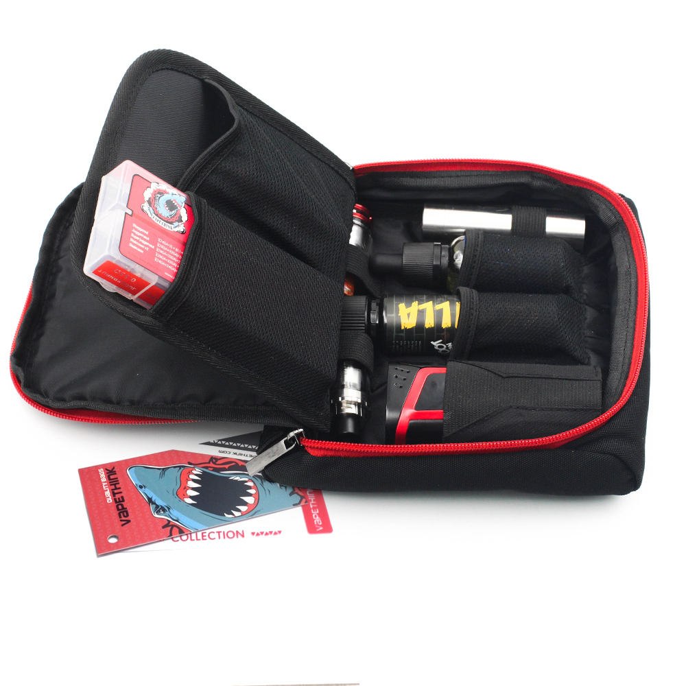 Vapethink Waterproof Case Ecig Electronic Cigarette Holder Ecig Bag Vape Bag Mod Tank Atomizer Liquid Ejuice Vapor Case Bag