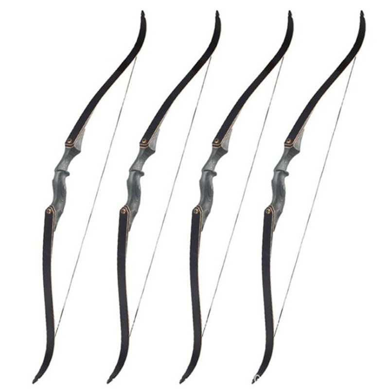 Draw weight 30-60lbs Hunting Archery Right Hand 60 Inch Takedown Recurve Bow archery takedown recurve bow 68 right hand 38 slingshot hunting