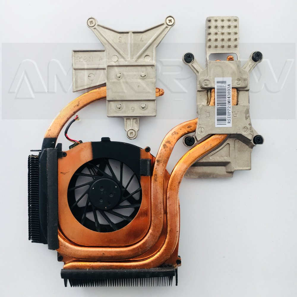 Original Laptop Replacement Cooling Fan CPU Compatible with Hp DV7-4000 DV6-4000 DV6-3000 Hasee A560P K580P K580S