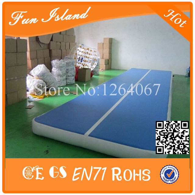 Free Shipping 8x2m Drop Stitch(DWF) Material Water Boards Inflatable Air Track Gymnastics For Training