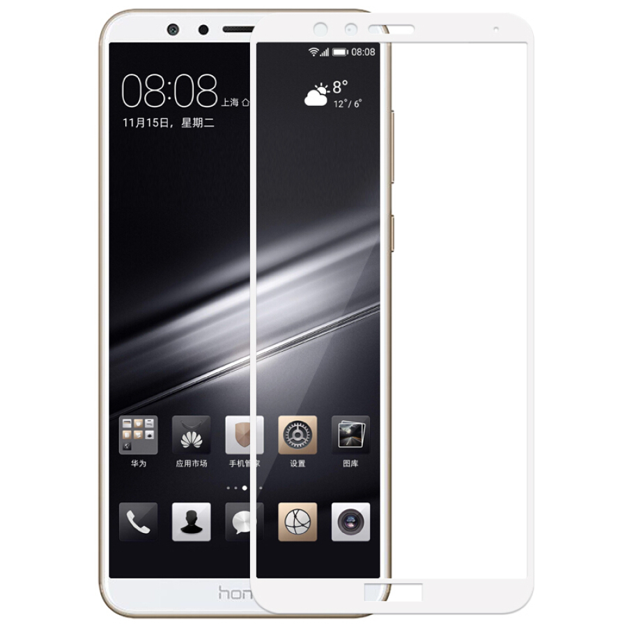2.5D HD Full Cover Tempered Glass Screen Protector For Huawei P20 P Smart Nova2S/2i P9 Lite mini 2017 Honor V10 V9 9 Lite 6A 8