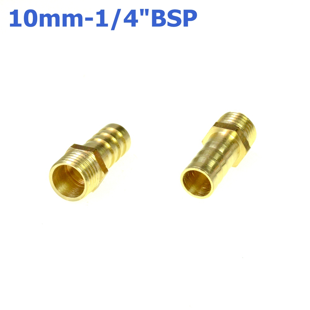 Pcs inch bsp male thread to mm hose barb tail