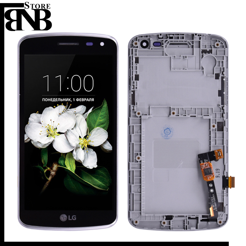 For LG K5 X220 X220mb X220ds LCD Display and Touch Screen Digitizer Assembly With frame or X220 lcd and touch without frameFor LG K5 X220 X220mb X220ds LCD Display and Touch Screen Digitizer Assembly With frame or X220 lcd and touch without frame