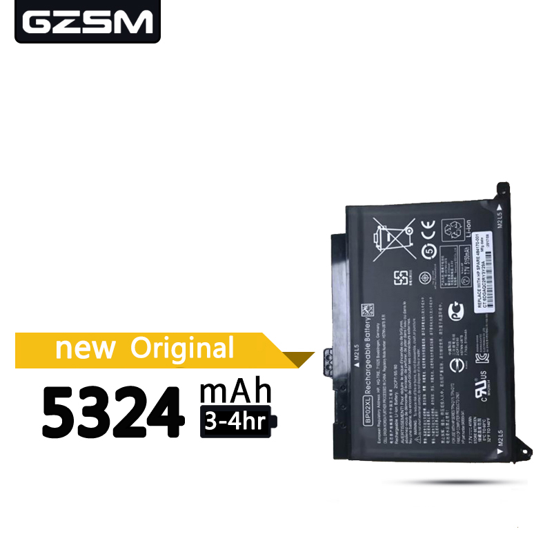GZSM Laptop Battery BP02XL For HP  15 15-AU Battery For Laptop 849909-850  849569-421 HSTNN-LB7H BP02041XL AU162TX  Battery