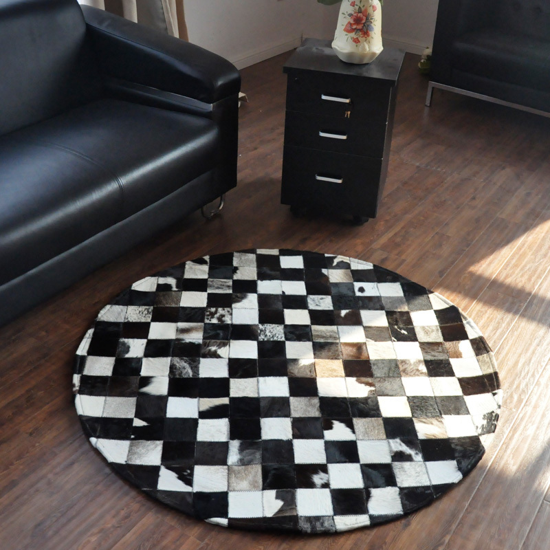 Fashionable art carpet 100% natural genuine cowhide leather chinese carved wool rugsFashionable art carpet 100% natural genuine cowhide leather chinese carved wool rugs