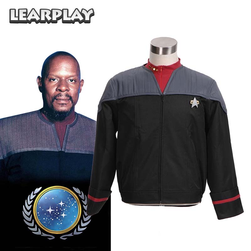 Star Trek Nemesis Voyager Captain Sisko Uniform Jacket Cosplay costumes