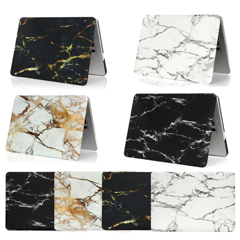 Slim Coque for Macbook Pro 13 Pro 15 Case CD ROM Hard PC Marble Stone Funda For Mac Book Pro 13 Pro 15 A1278 A1286 Laptop Case