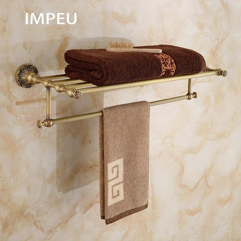 Bath towel rack with towel bar bathroom storage organizer - Bathroom wall cabinet with towel bar ...